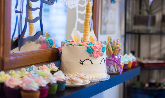 Unicorn and Dragons Birthday Party